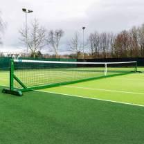 Vermont 360° Freestanding Tennis Posts [Aluminum] | Lightweight & 100% Portable – ITF Regulation [Black Or Green]