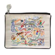 Catstudio South Carolina Zipper Pouch & Coin Purse | Holds Your Phone, Pencils, Makeup, Dog Treats, Tech Tools | Great for Travel, Women, Men, Girls, Boys