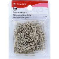 SINGER 00349 Dressmaker Pins, Size 17, 500-Count