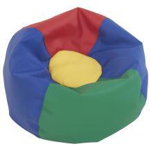 "ECR4Kids Junior Classic Bean Bag Chair, Multicolor (26"")"