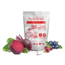 Hyburst- Electrolyte Powder & B-Vitamin Complex, Berry Beet Flavor Made with Real Fruit, Non- GMO, Organic, Sugar Free & Keto Friendly