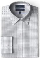 Amazon Brand - BUTTONED DOWN Men's Classic Fit Gingham Dress Shirt, Supima Cotton Non-Iron
