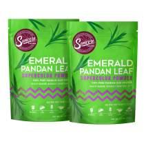 Suncore Foods – Premium Pandan Leaf Supercolor Powder, 3.5oz each, 7oz total (2 Pack) – Natural Pandan Leaf Food Coloring Powder, Plant Based, Vegan, Gluten Free, Non-GMO