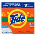 Tide Mountain Spring He Turbo Powder Laundry Detergent 68 Loads, Ultra Mountain Powder, 95 Ounce
