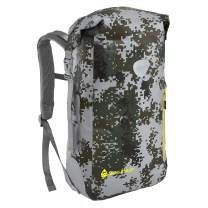 Skog Å Kust BackSåk Waterproof Floating Backpack with Exterior Zippered Pocket | for Kayaking, Rafting, Boating, Swimming, Camping, Hiking, Beach, Fishing | 25L & 35L Sizes