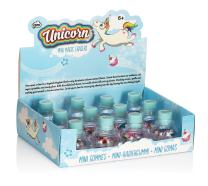 NPW Unicorn Mini Magic Eraser Pots, 12-Count