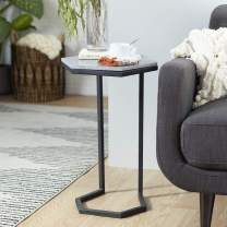 Deco 79 Accent Table, Large, Black