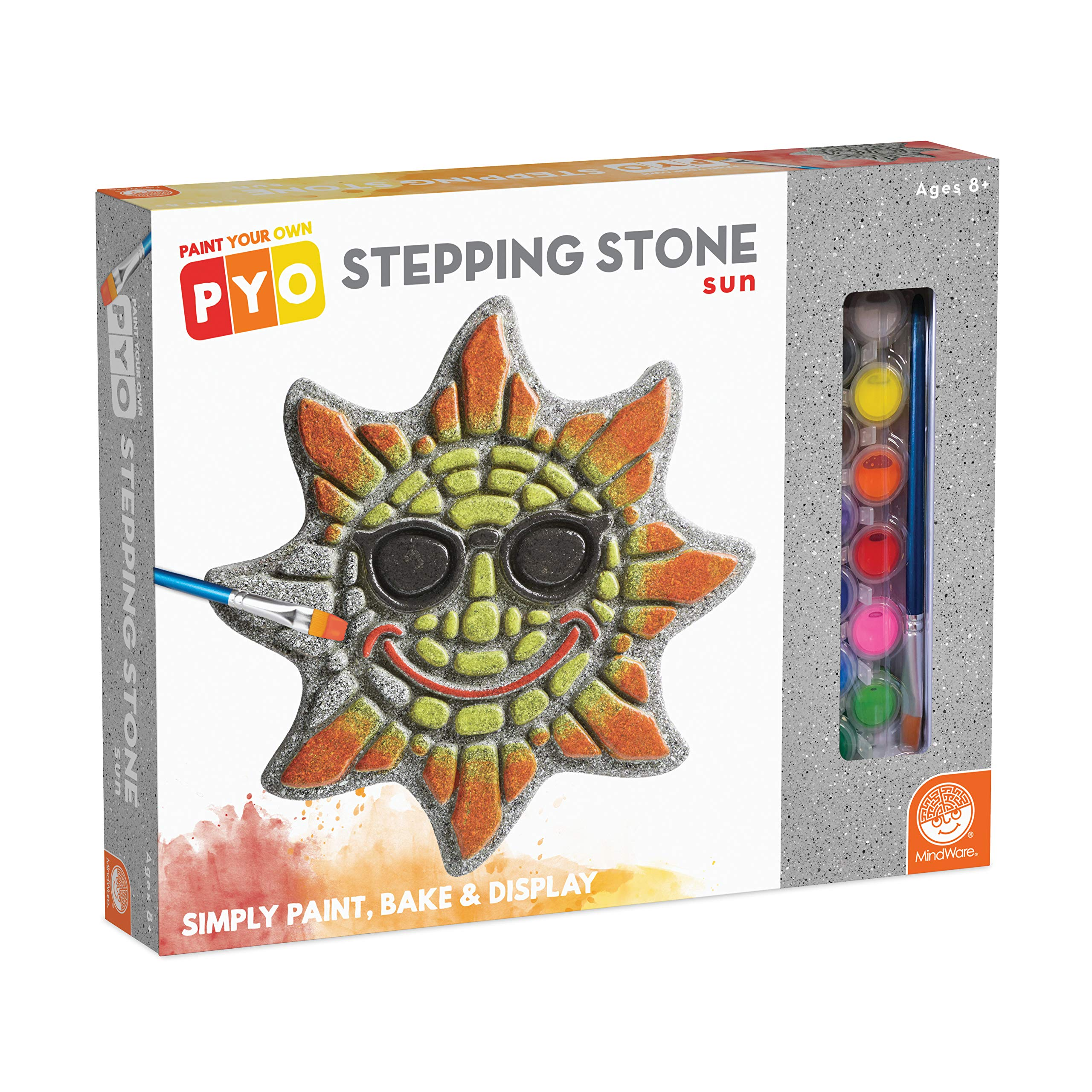 MindWare Paint Your Own Stepping Stone (Sun)