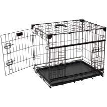 """Lucky Dog 22"""" (XS) Slyder Whisper Glide Sliding Door Dog Crate 