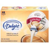 International Delight Half & Half Coffee Creamer Singles, 48 Count (Pack of 4)