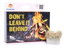 Fly High Survival Waterproof Fire Cubes for Extreme Conditions, Burns Wet Kindling, Camping, Wood Burning Stoves, BBQ Grills, Fireplaces, Hiking,& Picnics (6 Cubes), Handcrafted in USA