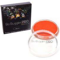 Bo Buggles Professional Bright Orange 32g Face Paint, Classic Colors, Water Activated