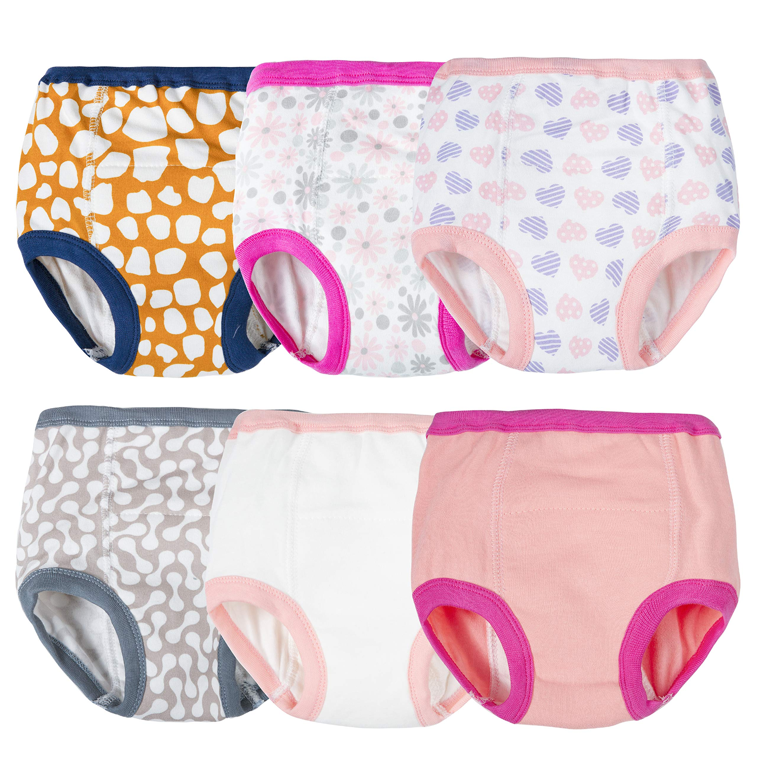 Training Underwear for Girls Potty Training Underwear Girls Potty Training Pants Toddler Training Pants Girls Training Underwear 2t-3t Toddler Training Underwear Toddler Potty Training Underwear