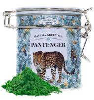 Japanese Matcha Green Tea Powder Ceremonial Grade (1 Oz). USDA Organic. First Harvest. High levels of Antioxidants and Amino Acids. Pantenger by Leopard Matcha