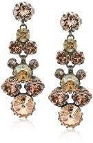 Sorrelli Wildflower Women's Well-Rounded Crystal Drop Earrings, Multi, 2