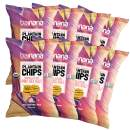 Barnana Organic Plantain Chips - Himalayan Pink Salt - 5 Ounce, 8 Pack Plantains - Barnana Salty, Crunchy, Thick Sliced Snack - Best Chip For Your Everyday Life - Cooked in Premium Coconut Oil