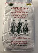 Three Ladies Jasmine Rice Extra Super Quality - 10 lbs