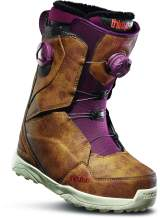 thirtytwo Women's Lashed Double Boa '19/20 Snowbaord Boot (Brown, 9)