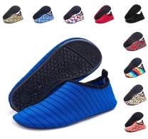 Silky Toes Womens Mens Patterned Water Shoes