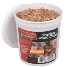 Camerons Products Smoking Chips - (Mesquite) 1 Pint Kiln Dried, 100% Natural Extra Fine Wood Smoker Sawdust Shavings - 1 Pint Barbecue Chips (0.473176 L)