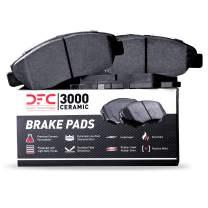 Front Set Dynamic Friction Company 3000 Ceramic Brake Pads 1310-1589-00