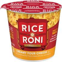 Rice a Roni Cups, Creamy Four Cheese, 2.25oz Cup (Pack of 12)