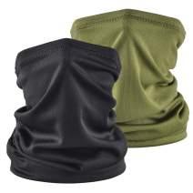 Sun UV Protection Neck Gaiter Bandana Face Cover Scarf Headwear Headband Men/Women for Fishing Cycling Running