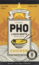 Savory Choice Pho Liquid Broth Concentrate, Chicken, 2.12 Ounce