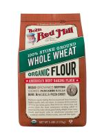 Bob's Red Mill Organic Whole Wheat Flour, 5 Pound