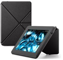 "Amazon Kindle Fire HD Standing Leather Origami Case (will only fit Kindle Fire HD 7""), Black"