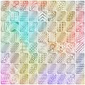 Mudder 72 Designs 144 Pieces Nail Vinyls Stencils Nails Stickers Set, 24 Sheets Cute Easy Nail Art Decal Stickers Stencils