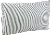 DorDor & GorGor Organic Toddler Pillowcase, Envelope Enclosure, 100% Cotton (Gray)