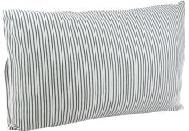 DorDor & GorGor Organic Toddler Pillowcase, Envelope Enclosure, 100% Cotton (Gray)