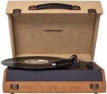 Crosley Momento Vintage Bluetooth 3-Speed Suitcase Turntable, Desert