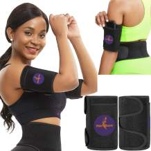 HerBose Arm Trimmers for Flabby Arms I Compression arm Sweat Sleeves Bands I Arm Shapers for Women and Men