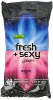 Playtex Fresh + Sexy Intimate Wipes, 24-Count Travel Pack