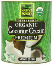 Native Forest Organic Coconut Cream, 96 Ounce Can