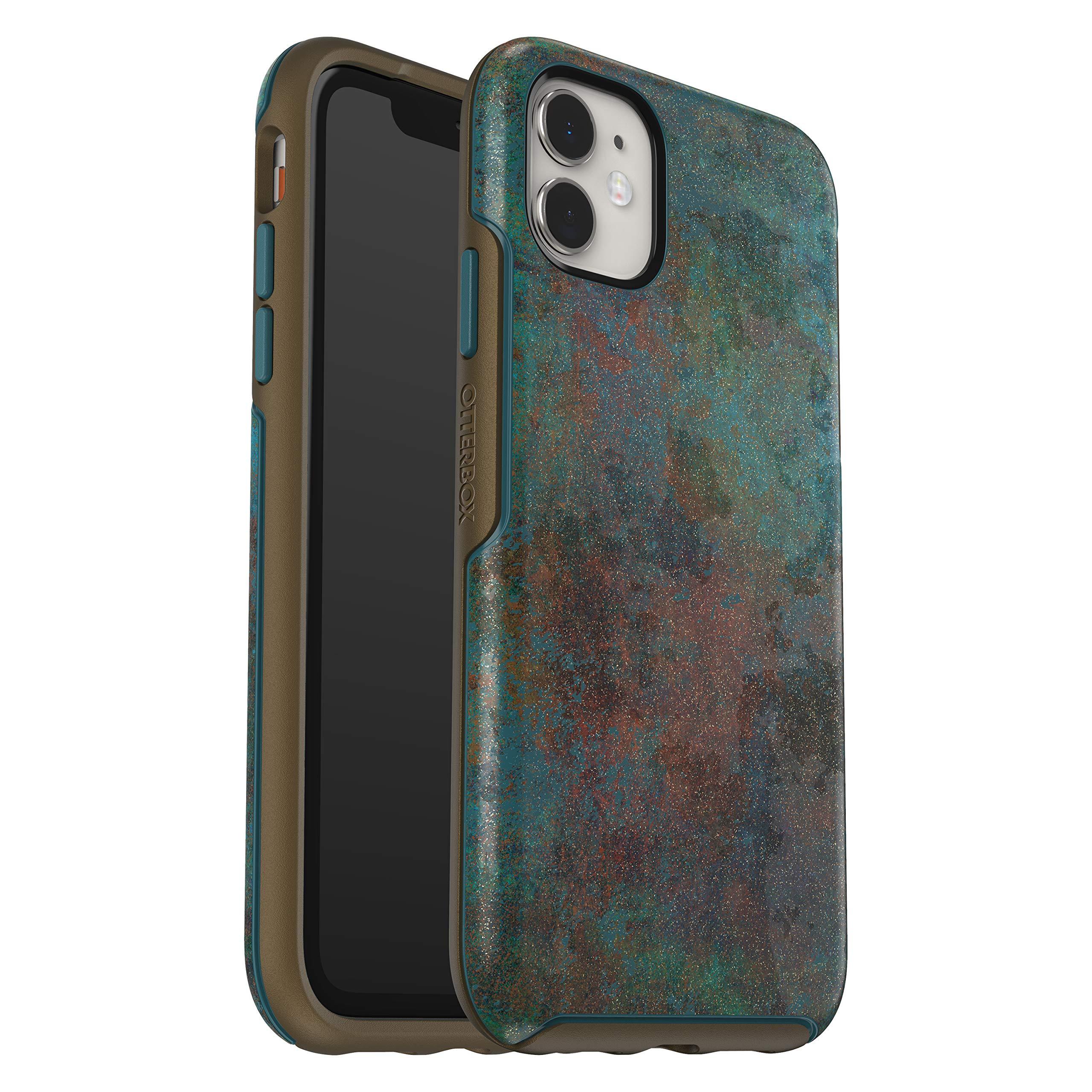 OtterBox SYMMETRY SERIES Case for iPhone 11 - FEELING RUSTY (COLONIAL BLUE/BRONZE/FEELING RUSTY IML)