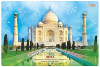 ZiGYASAW Giant Jumbo Jigsaw Floor Puzzle (Wipe-Clean Surface, Wonders of The World Great Gift for Girls and Boys - Best for 3,4,5,6,7,8 Year Olds and Up) (Taj Mahal Puzzle)