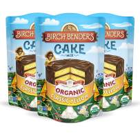 Birch Benders Organic Classic Yellow Cake Mix, 3 Pack (15.2oz each)