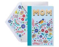 American Greetings Colorful Bird Mother's Day Greeting Card with Foil