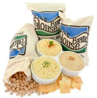 Easy to Make Non-GMO Hummus Recipe Kit Includes: Bare Hummus, Garlic & Herb Hummus, and Mediterranean Hummus by Palouse Brand with Organic Seasonings