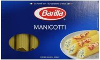 Barilla Manicotti Pasta, 8 oz