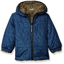 LONDON FOG Baby Boys Reversible Fleece to Poly Jacket