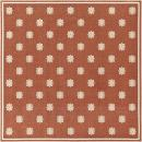 Surya Machine Made Traditional Area Rug, 8-Feet 9-Inch, Cherry/Beige
