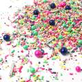 Day Dreamer Sprinkle Mix |Pink | Blue | Yellow | Gold Dragees | Baby Shower | Gender Reveal Sprinkles, 4OZ
