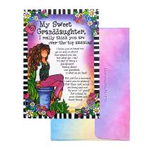 """Blue Mountain Arts Greeting Card """"My Sweet Granddaughter"""" Is the Perfect Birthday, Christmas, or Graduation Card for an Amazing Granddaughter, by Suzy Toronto (SZ559)"""