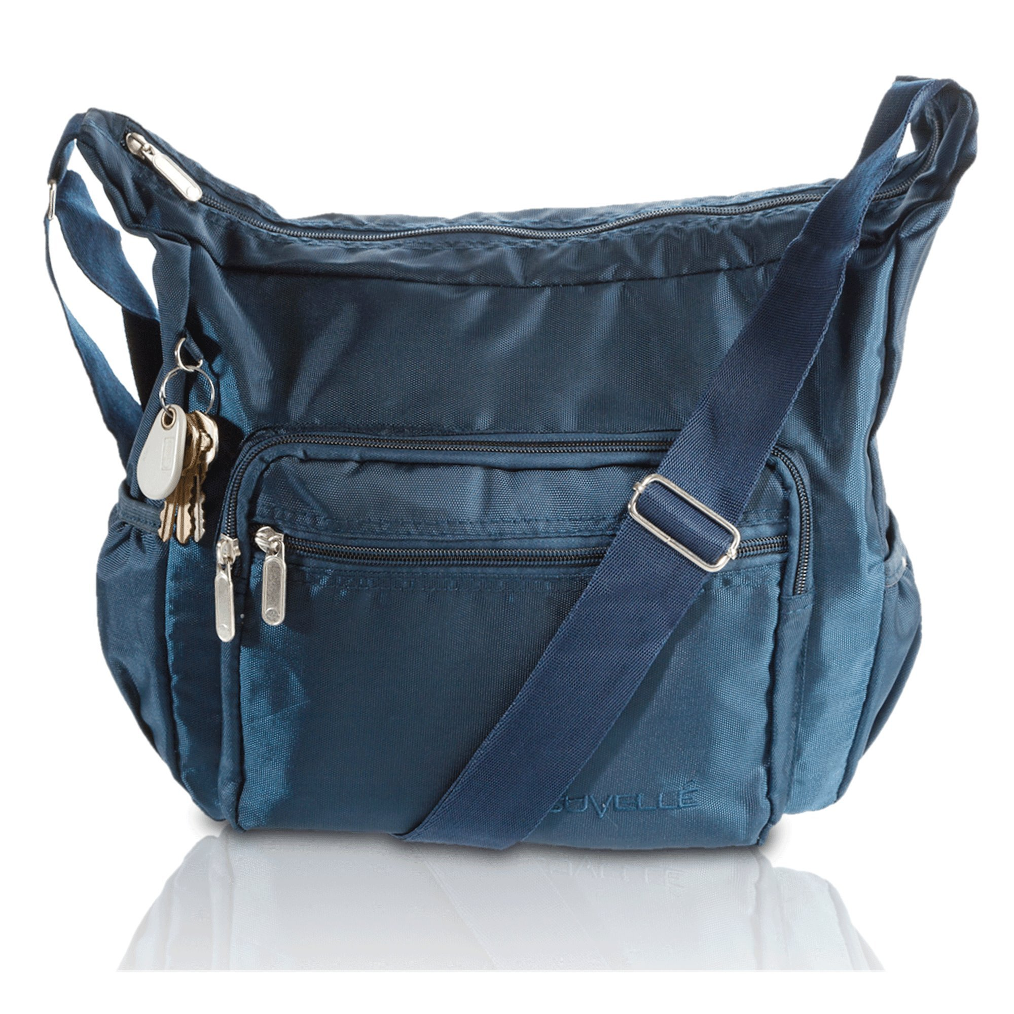 Crossbody Bags for Women Nylon Lightweight Travel Purse Multi Pocket Shoulder Bag Handbags