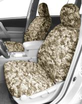 CalTrend Front Row Bucket Custom Fit Seat Cover for Select Chevrolet Equinox Models - Camouflage (Desert)