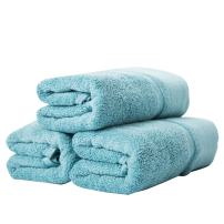 """sense gnosis Hand Towels Ultra Absorbent Quick Dry 100 Percent Terry Cotton Luxury Towel Set for Everyday Use, Home, Gym, Pool, Camping (3 Pack Turquoise,13"""" X 29"""")"""